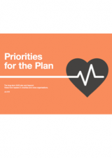 Priorities for the Plan: The long-term NHS plan and beyond: Views from leaders in charities and voice organisations
